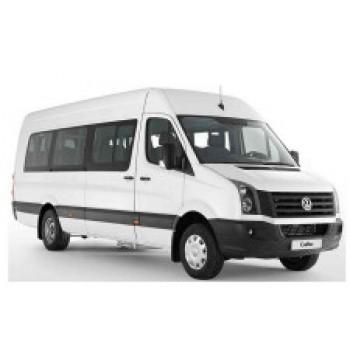 Кондиционеры на микроавтобусы до 18 мест Volkswagen Crafter ( с 2019 г., з. привод) | 10 кВт